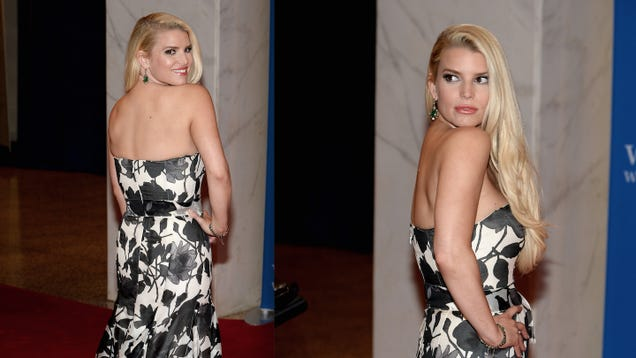 Jessica Simpson Doesn't Actually Want a Rounder Butt