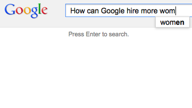 Google Is Basically Googling a Better Way to Hire and Retain Women