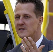 Schumacher Back on Track