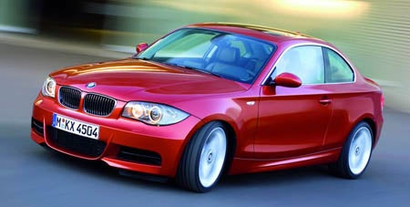 UK Specs of BMW 1-Series Coupé Arrive Early