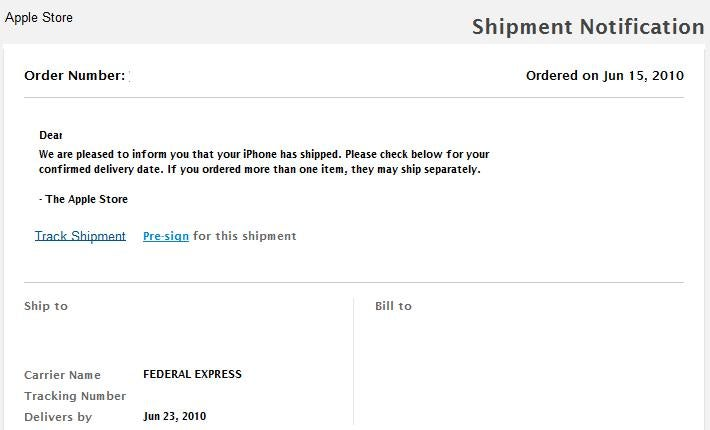iPhone 4s Are Shipping Now