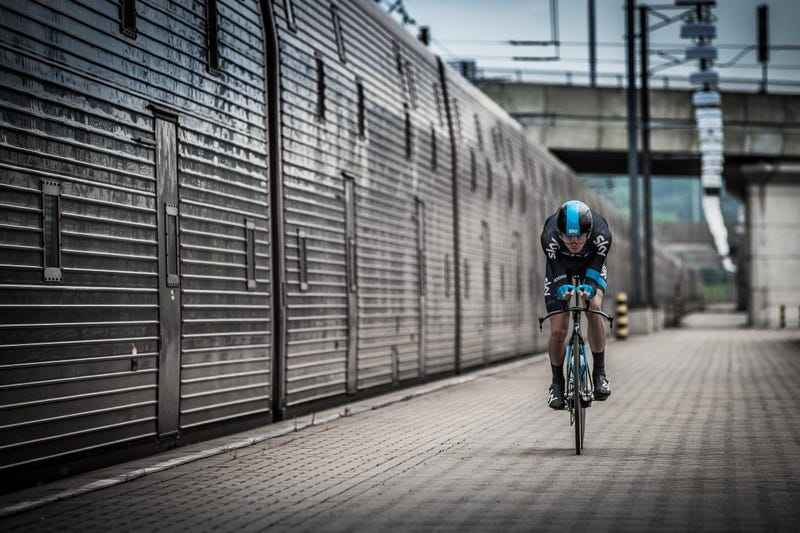 Meet The First Man To Bike Through The Channel Tunnel
