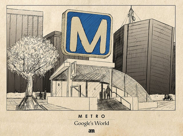 Artist's Drawings Show What Google Maps Icons Would Look Like In The Real World