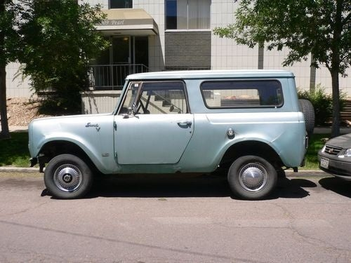 1970 International Harvester Scout Down On The Denver Street