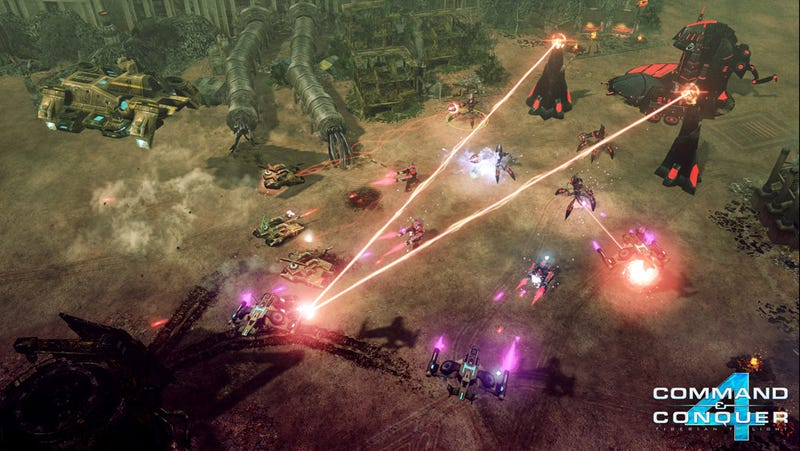 Command & Conquer 4 Goes To Junktown