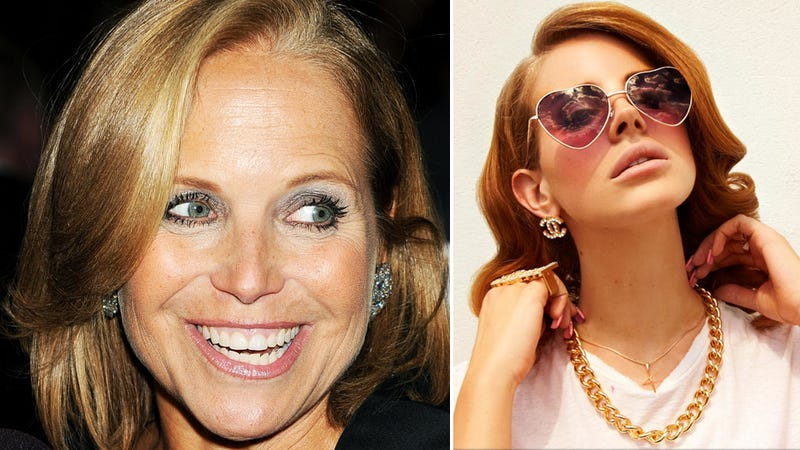 Katie Couric on Lana Del Rey: 'Is She, Like, a Poser?'