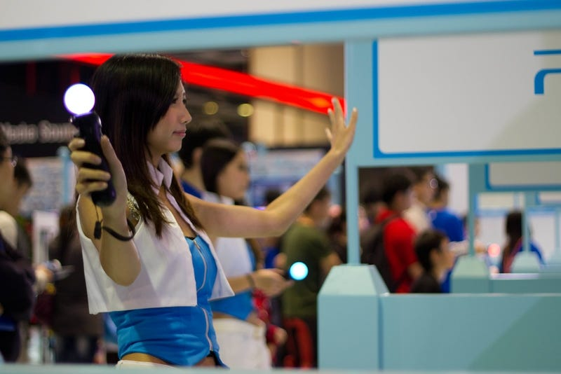 The Cosplayers and Booth Companions of the 2011 Asia Game Show