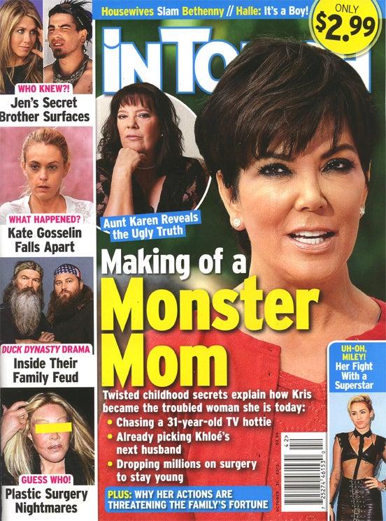 This Week in Tabloids: The Mom-Shaming of Kim Kardashian Has Begun