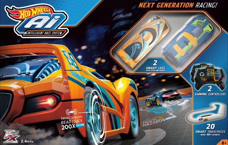 Hot Wheels' New RC Cars Have Minds of Their Own