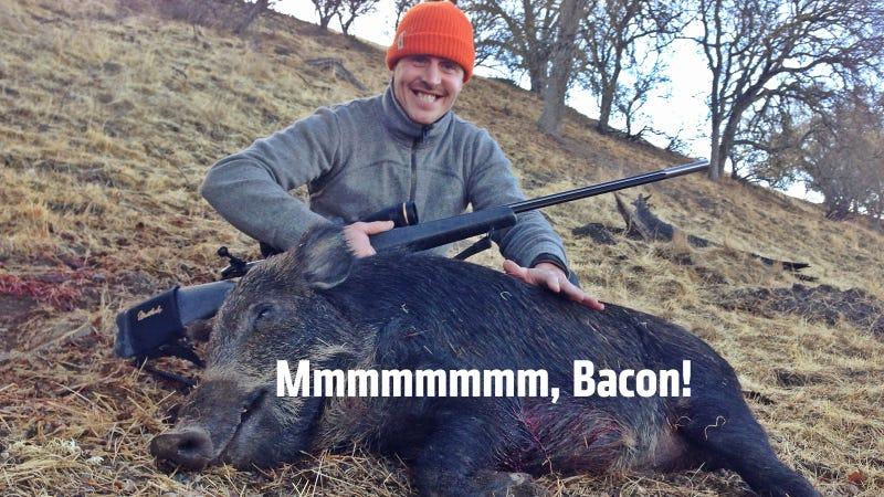 I Shot A Pig!