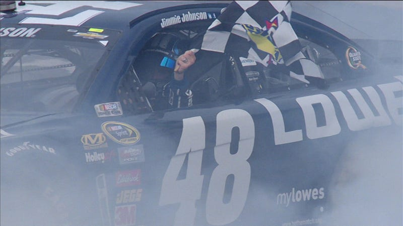 Jimmie Johnson Wins Daytona 500; Danica Patrick First Woman To Place In Top 10