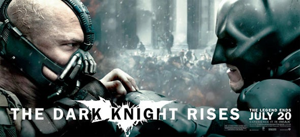 The Dark Knight Rises Banners