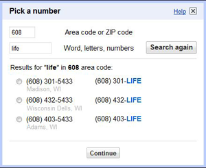 From the Tips Box: Vanity Phone Numbers, iGoogle, and Tortilla Chips