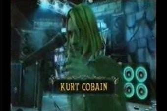 Video of Kurt Cobain, Matt Bellamy in Guitar Hero 5