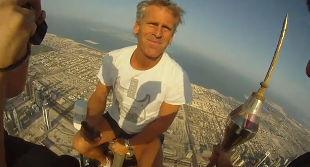 Three Guys Scale The Tallest Building In The World