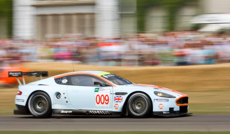 Would You Commute In An Aston Martin DBR9?