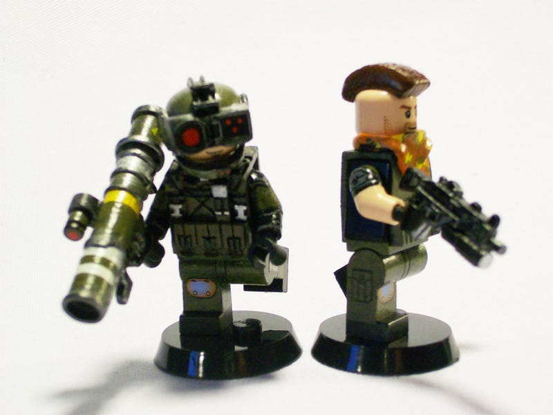 Lego Halo Toys : Lego uncharted call of duty halo
