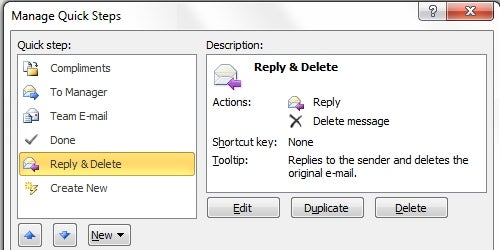 Quick Steps Looks Like Office 2010's Killer Feature