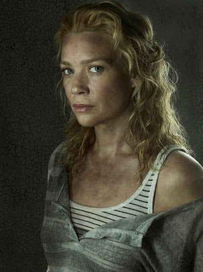 Andrea gets a less-than-happy reunion with Rick in The Walking Dead