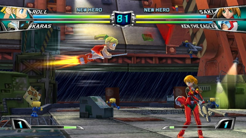 Tatsunoko vs. Capcom: The Glorious Screens