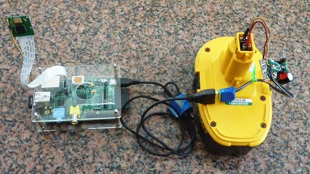 Make a Portable Raspberry Pi Power Supply from an Old Drill Battery