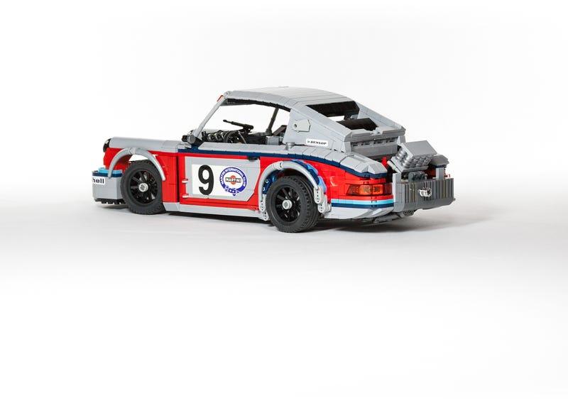 Lego Has To Build This Amazing Martini Porsche Racing Set