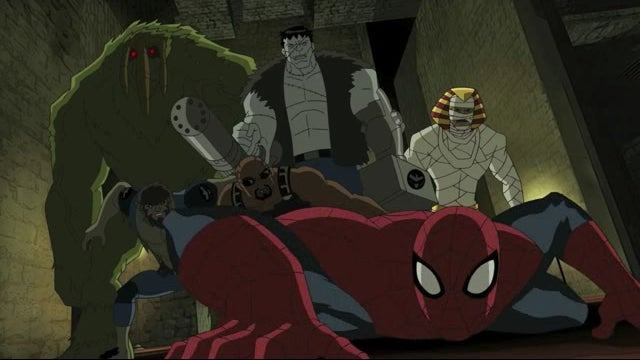 Halloween comes early on Ultimate Spider-Man