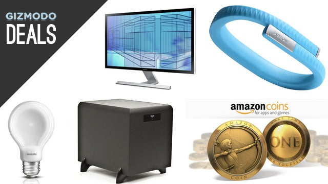 $10 In Free Android Credit, Huge Amazon Game Sale, 4K Samsung, LEDs