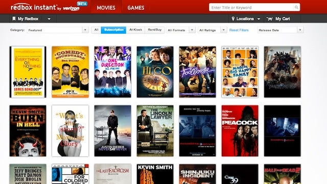 Redbox Instant Launches with Netflix-Style Streaming Movies
