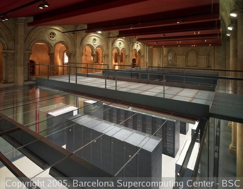 MareNostrum, the World's Most Gorgeous Super-Computer