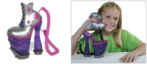 Stripper Shoe Phone For Little Girls