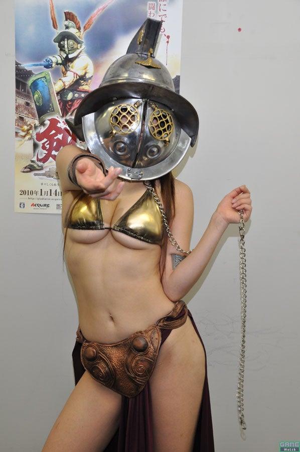 NSFW: Bikini Gladiator Underboob Cosplay Features Smaller Bikini, Princess Leia