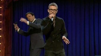 "Video: Jimmy Fallon & Justin Timberlake's ""History Of Rap"""