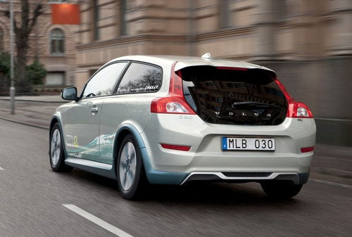 Volvo C30 Electric: First Photos