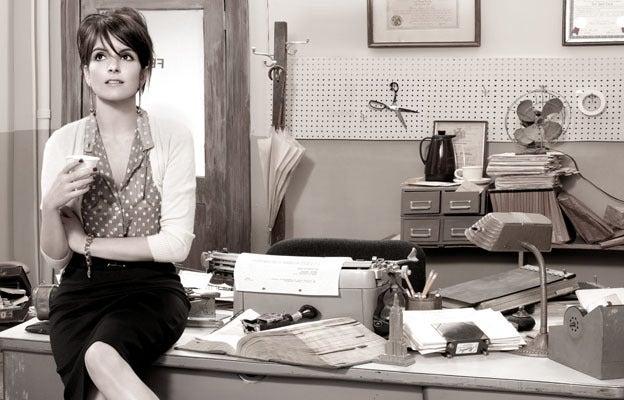 Tina Fey Sheds Her Smart Girl Image In Bazaar