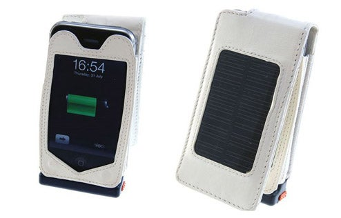 1500mAh Solar Powered Charging Case For the iPhone 3G
