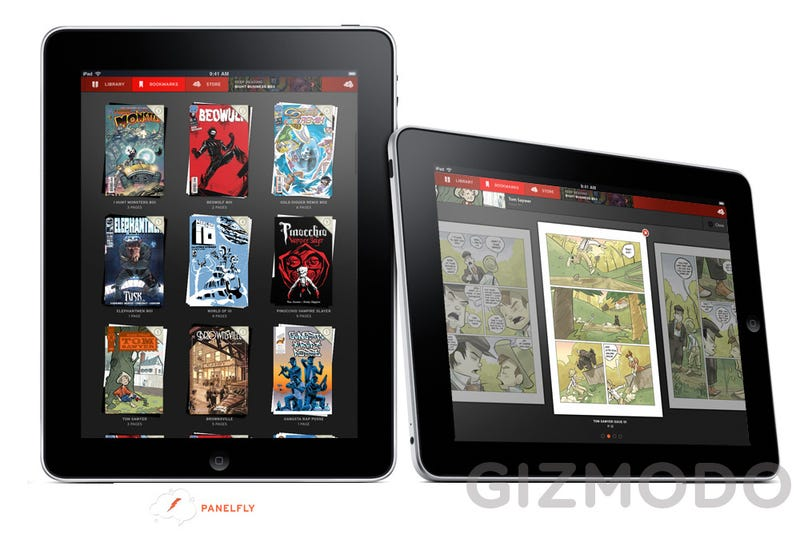 Comic Books Will Look Incredible on the iPad