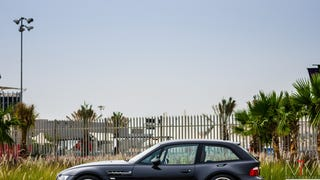 BMW Z3 M Coupé. Bahrain. Bread van rakes in the dough