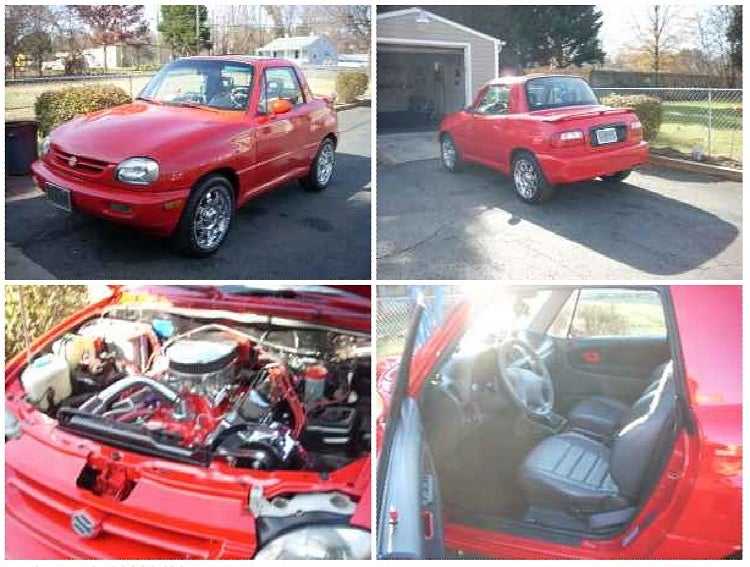 For $12,000, V8-powered X90, that is all