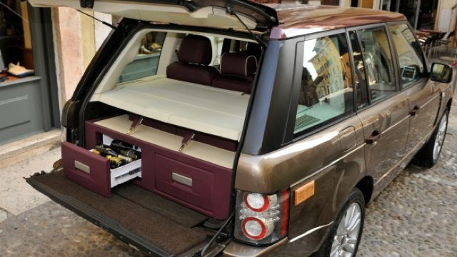 Range Rover wine cellar has the spirit of driving while intoxicated