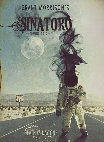Grant Morrison drops hints about his new Western indie flick, Sinatoro