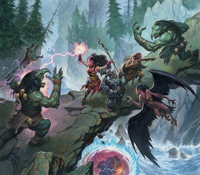 D&D Fourth Edition is the perfect game for wizard-on-wizard action
