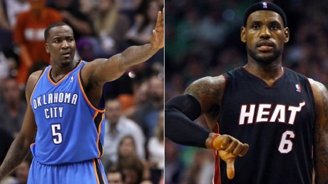 LeBron's Not Going To Apologize For Kendrick Perkins's Hurt Feelings