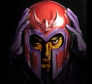 Magneto Actually Moving His Magnetic Butt Forward?