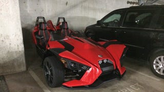 Seen around Seattle: Work parking garage edition