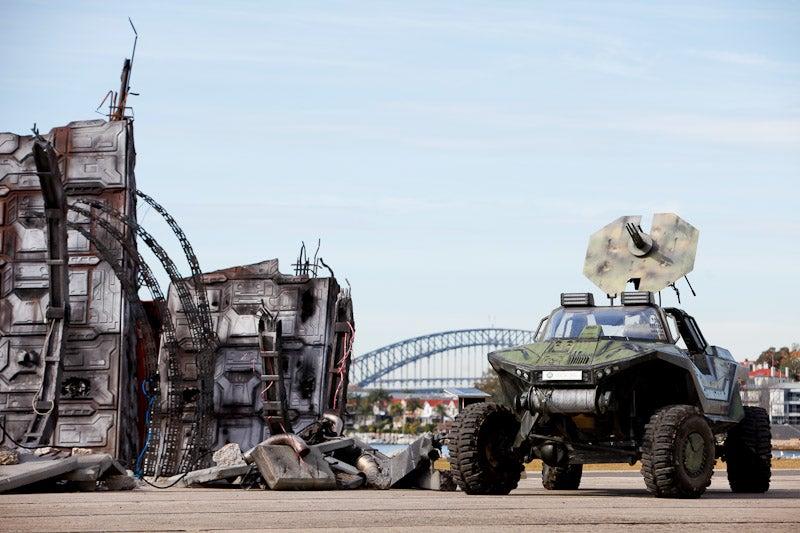 Visit A Real Halo Warthog On Sydney Harbour