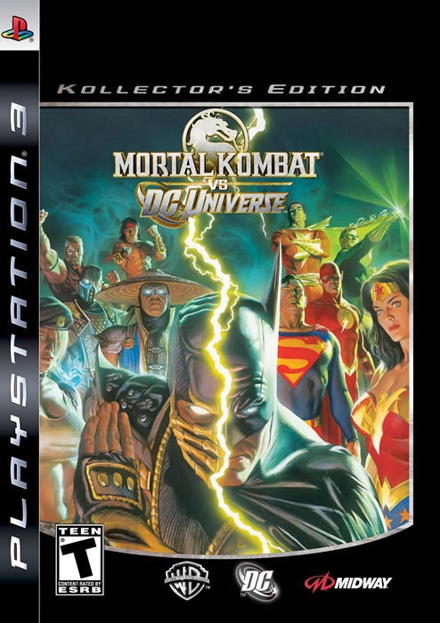 Lightning Joins All The Other Things Striking In Mortal Kombat Vs. DC