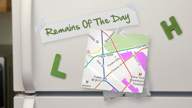 Remains of the Day: Google Maps Adds Even More Public Transit Schedules
