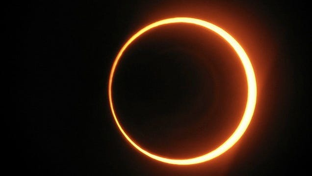 Watch Tonight's Ring of Fire Solar Eclipse Right Here