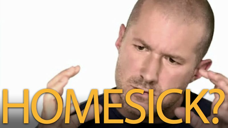 What's Going On with Jony Ive?